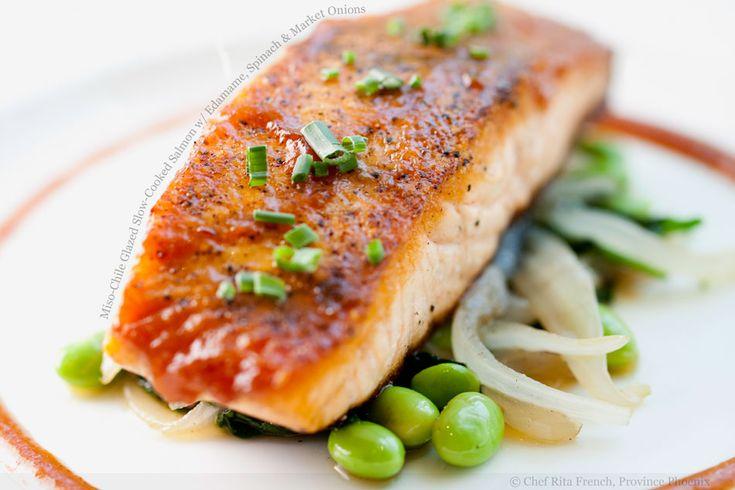 miso glazed salmon | Yummy Nummies | Pinterest