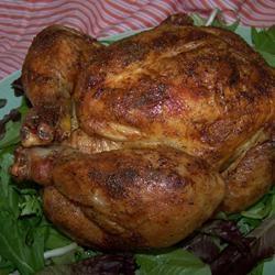 Roast Sticky Chicken-Rotisserie Style, I don't put in fridge overnight ...