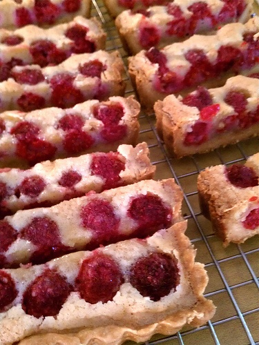 brown butter raspberry tart | Yummy stuff | Pinterest