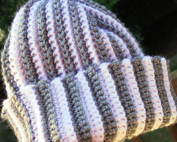 Crochet Patterns To Use Up Yarn : Crochet How To Video: Free Hat Pattern for Scrap Yarn