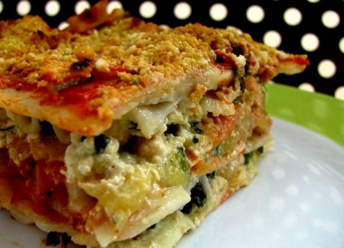 vegan lasagna | RECIPE on hotforfoodblog.com