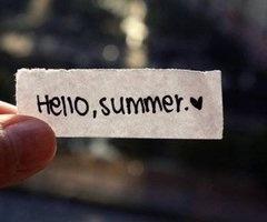 hello, summer