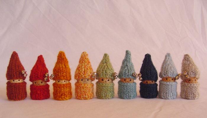 Deco cadeaux de no l crochet tricot diy pinterest - Creation avec des bouchons de liege ...