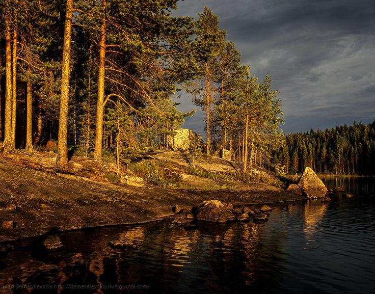 Вечер в Карелии. | Photo :: Landscape of Russia ...: pinterest.com/pin/338121884495870674