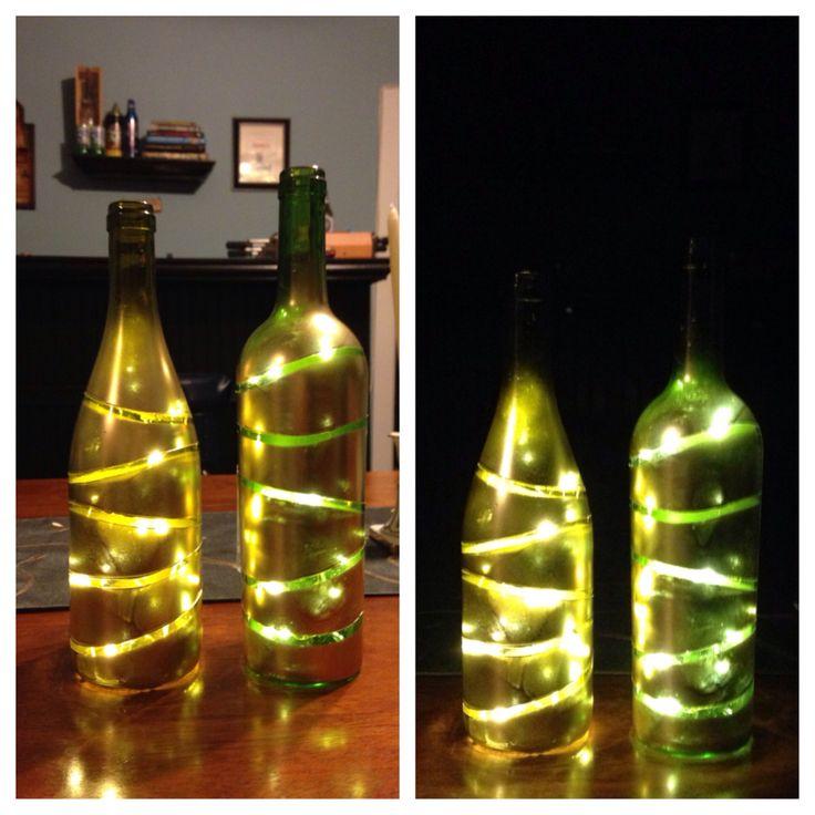 Pinterest for How to remove bottom of glass bottle