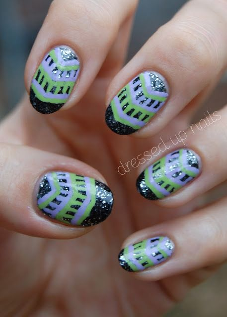 pics 19 Glam St. Patrick's Day Nail Designs from Instagram