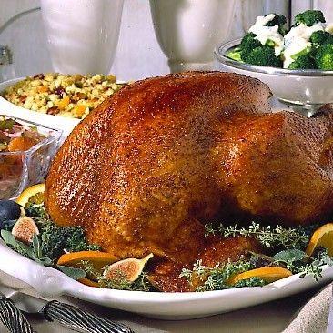 Honey and Spice Glazed Turkey
