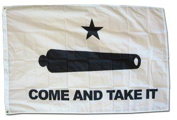 come and take it flag framed