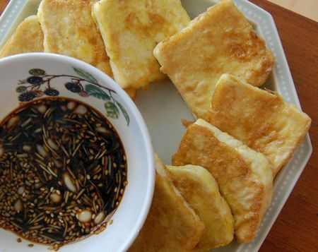 Pan-Fried Tofu With Dark Sweet Soy Sauce Recipes — Dishmaps