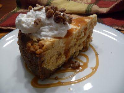 Marbled Pumpkin Cheesecake | Food | Pinterest