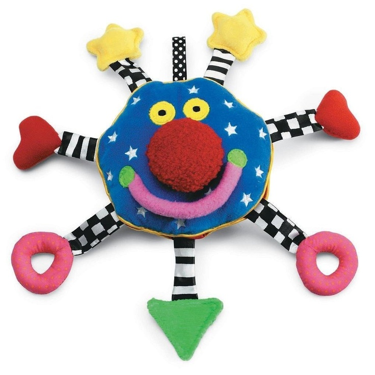 Toys For Cortical Visual Impairment : Manhattan toy baby whoozit cortical visual impairment