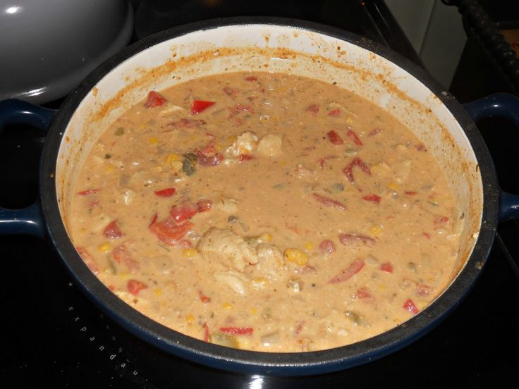 ... Hezzi-D's Books and Cooks: Jalapeno Popper Chicken Chili #SundaySupper