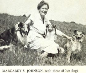 Margaret S. Johnson books...with some of the most beautiful Sheltie ... Old English Sheepdog Kent