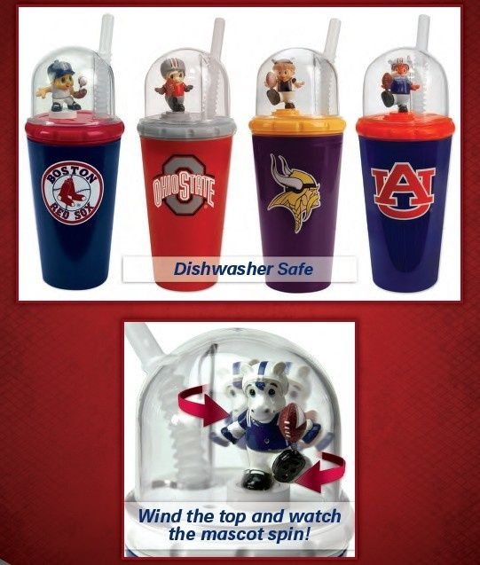 Custom cup plastic team water jug with team logo