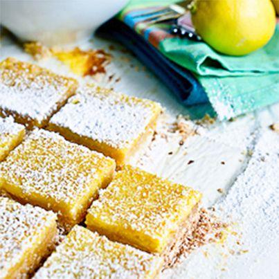 Lemon Coconut Bars | Yummy recipes | Pinterest