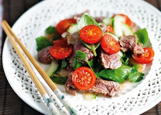 Gizzi Erskine's thai beef salad #recipe #food