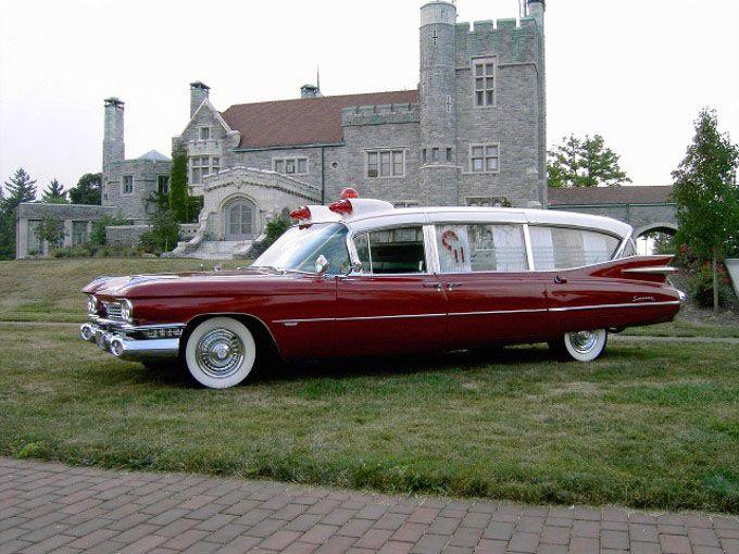 1959 Cadillac Miller-Meteor Ambulance