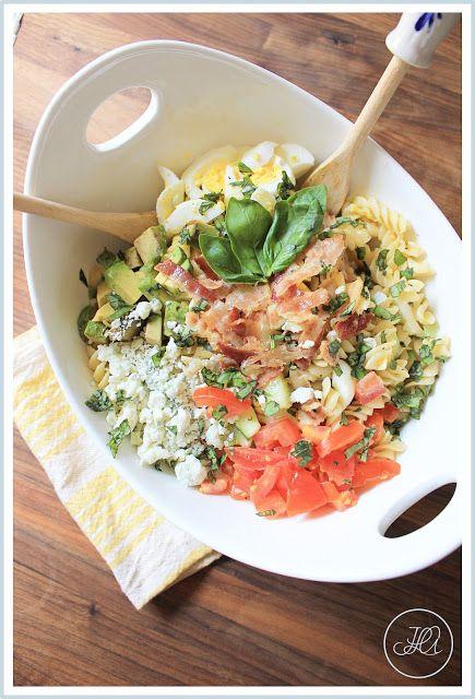 Spring Cobb Pasta Salad | Eat: Salads - Pasta | Pinterest