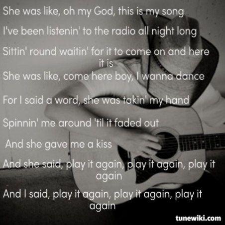 Luke Bryan Quotes Play It Again Play It Again Luke Bry...