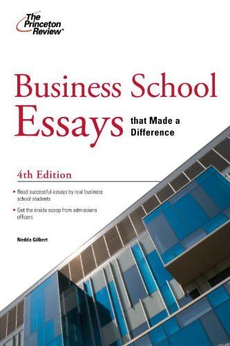 writing essays for business school