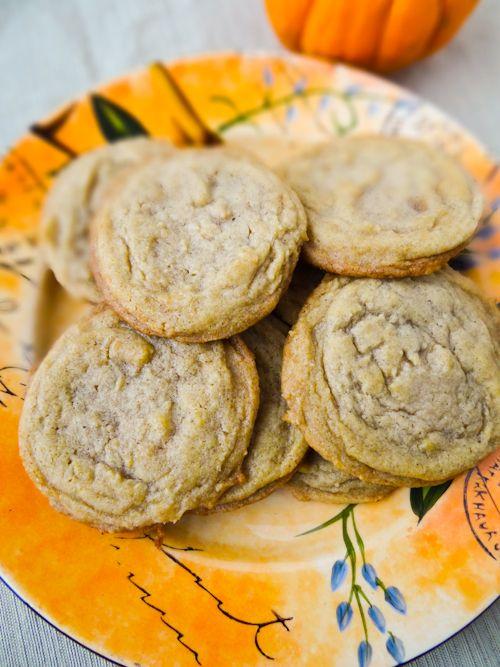 Pumpkin Spice Brown Sugar Cookies | Recipe
