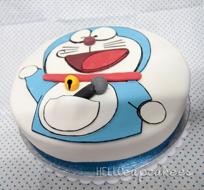 Doraemon Birthday Cake Images : Birthday Cake Doraemon Cakes Pinterest