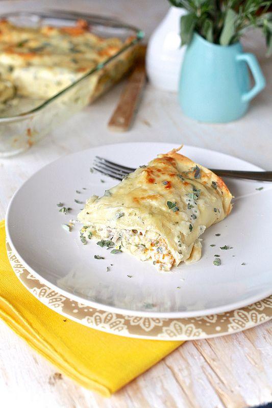 Butternut & Sausage Hash Rustic Lasagna with Creamy Sage Sauce | Reci ...