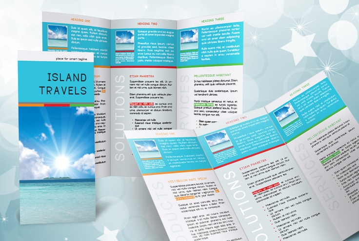 free indesign tri fold brochure template indesign tri fold brochure template free