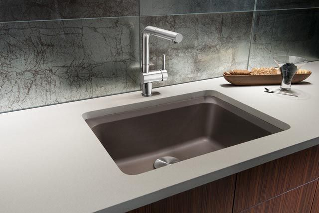 Blanco Granite Composite Sinks : BLANCO VISION? Single Bowl Consider BLANCO VISION? the small sink ...