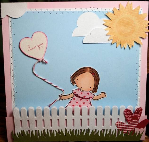 Sweet card with sunshine pick me up. | Paper Crafts | Pinterest