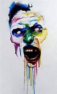 Zombie watercolor artZombie Watercolor Painting