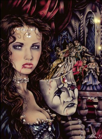 Victoria frances vampire artistica fantasy pinterest for Victoria frances facebook