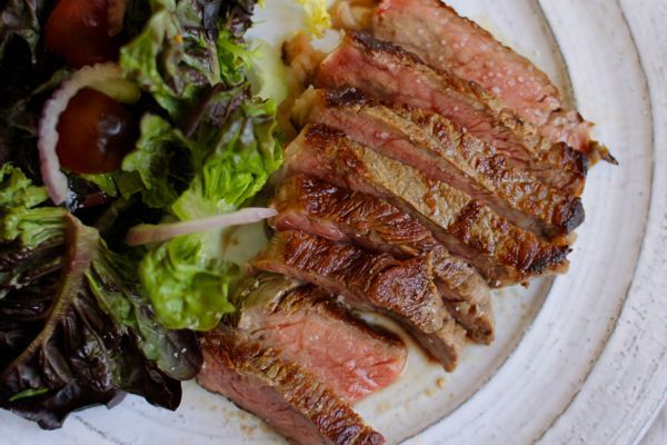 pan roasted rib-eye steak | crunchtime you won't believe your mouth ...