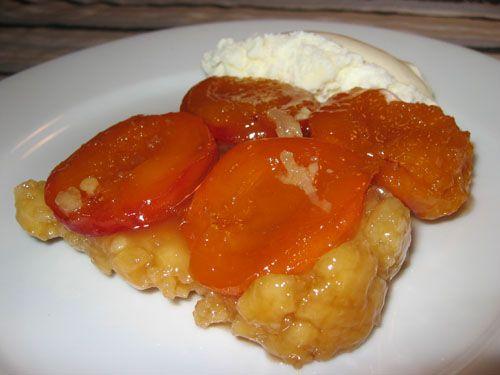 Apricot Tatin