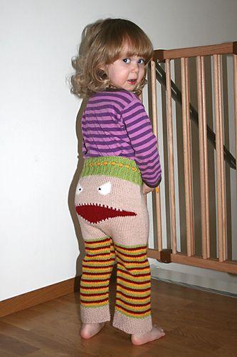 free pattern for monster pants Crochet Pinterest