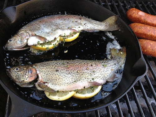outdoors! -Rainbow Trout with Bow River Fish Blend -Saltwater Chili ...