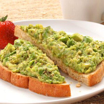 Avocado Breakfast Toast | Break-f-a-a-a-s-s-st! | Pinterest