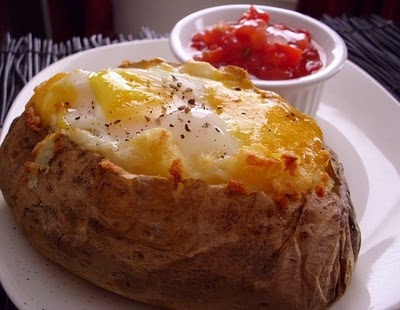 Breakfast Baked Potato | Barefoot and Pregnant in the Kitchen | Pinte ...