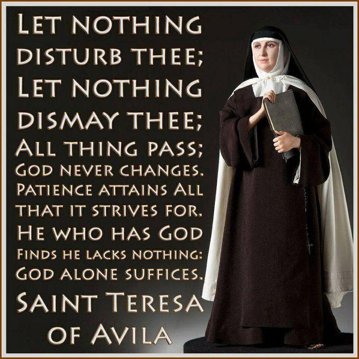 sappho and st teresa de avila Feminae: medieval women and gender index home  avila, avila, spain- church  wife of gui iv de chatillon, count of st pol  marie de france,.