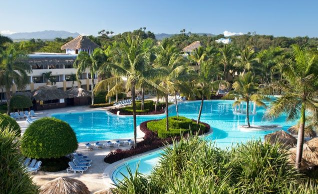 If you aren't content to just sit by the pool at the Iberostar Costa Dorada, there are activities all around the resort, from archery to merengue lessons. (From: Photos: Best Beachfront All-Inclusive Resorts that Fit Your Budget).