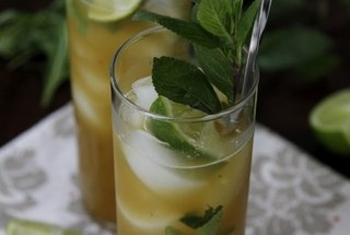 Pineapple Arugula Mint Mojitos — Recipe from bell'alimento