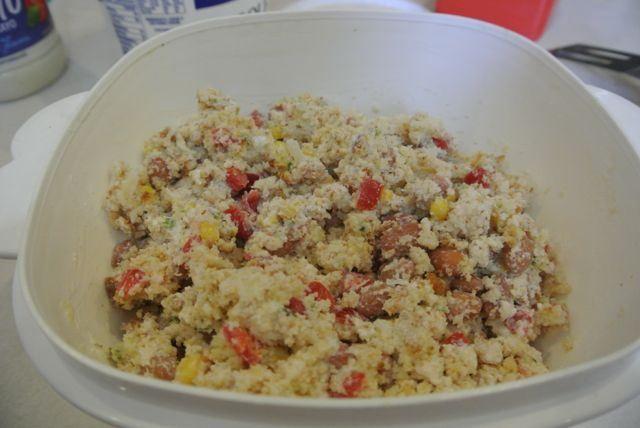 Cornbread Salad | Side Dish | Pinterest