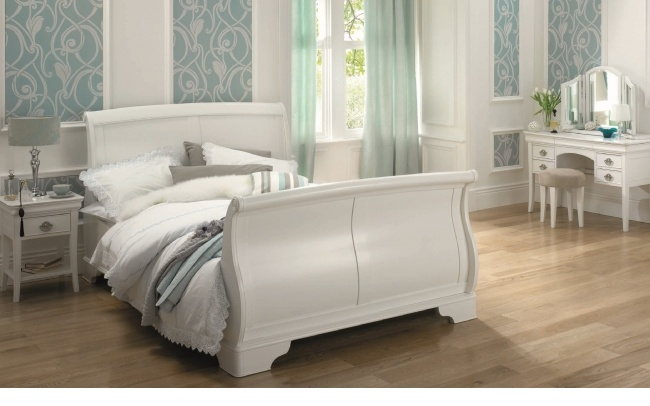 French Style White Finish Furniture Bedroom Pinterest