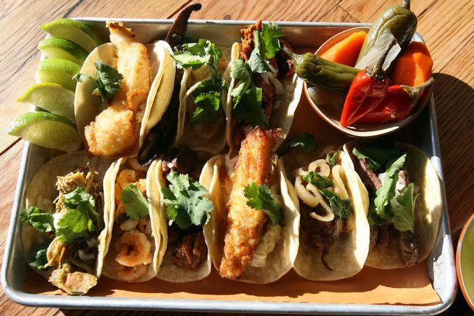 mmm...fish tacos | Lake Bar - Restaurant Design | Pinterest