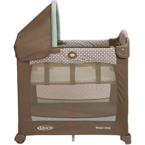 Graco Portable Baby Crib Playard Playpen Bassinet Nursery Bedroom Pac