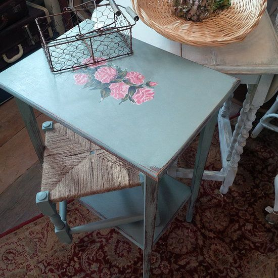 Shabby Chic Hand Painted Furniture DIY Pinterest