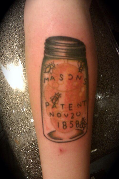 Mason Jar Tattoo Mason Jar Pinterest