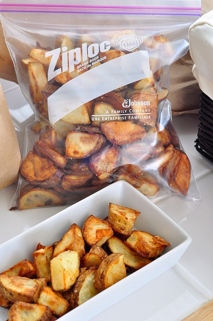 Oven Baked Potato Wedges by Seeded at the Table, via Flickr