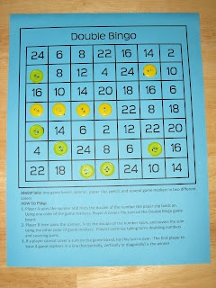 daily double bingo