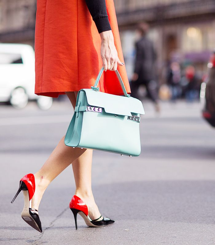 Red and mint - pfw
